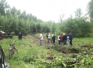Сельские жители активно противостоят бизнесмену под Воронежем