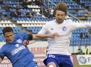 Нападающий воронежского «Факела» попал в число лучших игроков ФНЛ в апреле