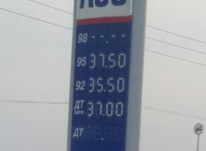 Воронежцы пришли в шок от цен на бензин в Калуге