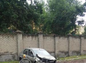 Досадное ДТП с участием такси сфотографировали в Воронеже