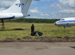 В Воронежском аэропорту на учениях ловили террористов