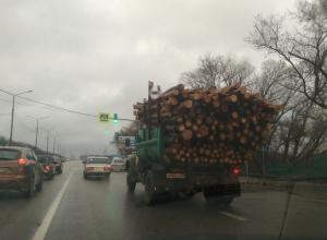 Грузовик из фильма «Пункт назначения» сняли на дороге в Воронеже