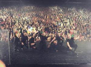 Сергей Лазарев похвастался воронежской публикой в Instagram