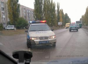 Под Воронежем водители сообщили о ДТП с участием полицейского патруля