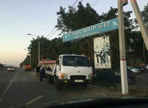 Воронежца возмутила хамская работа эвакуатора около спорткомплекса «Олимпик»