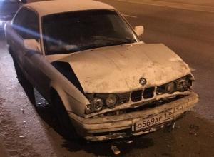 Ночные догонялки «немцев» в Воронеже закончились ДТП