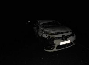 Пенсионерка чудом осталась жива в страшном столкновении «Renault» с КамАЗом