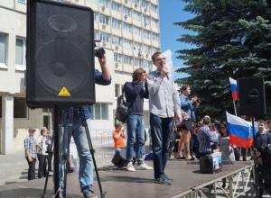 Митинг молодёжи Навального в Воронеже исполнен «по-гордеевски»