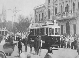 91 год назад правила запрещали милиционерам ездить в автобусах в Воронеже