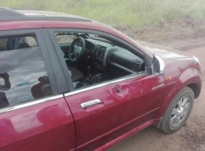 Осколок от снаряда на «Авиадартсе» под Воронежем попал в автомобиль