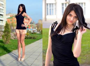 Сексуальная брюнетка стала доверенным лицом Владимира Путина от Воронежской области