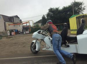 Воронежец сделал гибрид автомобиля и мотоцикла