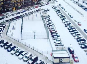 Выпавший снег привел в восторг жителей Воронежа