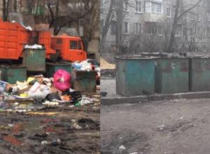 Коммунальщики извинились перед воронежцами за безобразную мусорку после публикации «Блокнота»