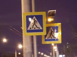 Воронежцы высмеяли знаки «зебры» для непонятливых