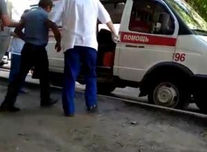 Последствия теплового удара сняли на видео в центре Воронежа