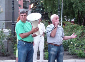 Старожилы воронежских либеральных митингов стали помогать Собчак