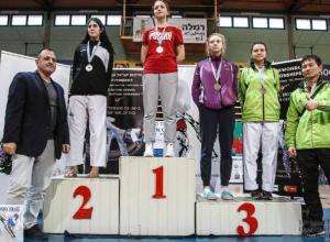 Две Насти из Воронежа заработали медали на турнире по тхэквондо в Израиле