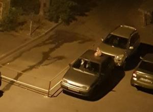 Воронежцы банально наказали автомобилиста за парковку