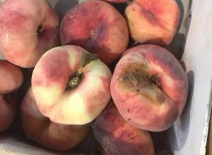 Гнилые персики со стаей мошек в воронежском супермаркете разгневали горожан