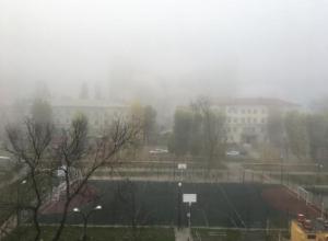 Сильный туман парализовал работу международного аэропорта «Воронеж»