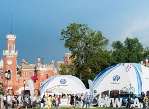 Volkswagen представил Digital Experience на фестивале «Усадьба Jazz»