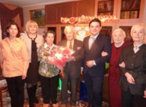 В Воронеже 100-летний юбилей отметил ветеран ВОВ