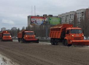 В мэрии Воронежа рассказали, сколько снега убрали сегодня