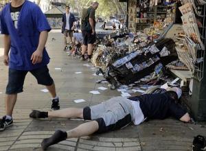 Житель Воронежа едва не погиб во время жуткого теракта в Барселоне