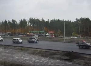 Проезд кортежа с Владимиром Путиным по Воронежу сняли на видео