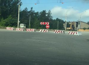 В Воронеже затягивается ремонт развязки на улице 9 Января
