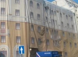 Воронежский «дом под тряпкой» на площади Ленина пойдет под снос