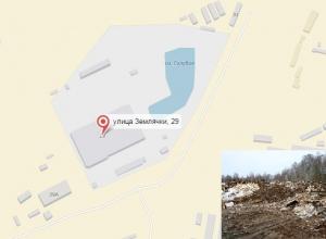 Воронежский бизнесмен медленно уничтожает уникальное «Голубое озеро» на улице Землячки