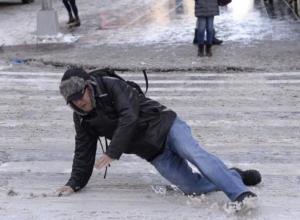 Полторы тысячи жителей Воронежа получили травмы из-за погоды