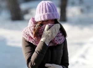 Крепкие морозы ожидают воронежцев на рабочей неделе