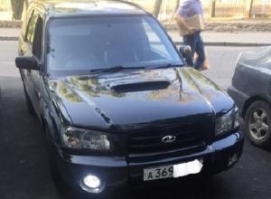 Subaru переделанную под «Ладу» сфотографировали в Воронеже