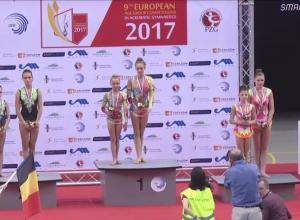 На чемпионате в польском Жешуве воронежские акробатки завоевали «серебро»