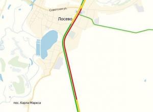 На воронежском участке М-4 «Дон» водители застряли в 10-километровой пробке