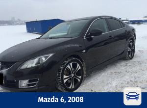 Черную Mazda 6 продают в Воронеже