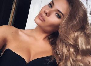 Роскошная воронежская блондинка показала сексуальное фото в новом бюстгалтере