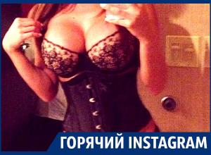 Аппетитным телом в дерзком белье похвасталась девушка из Воронежа