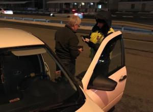 Ночью в Воронеже не все водители смогли трезво дунуть в трубочку
