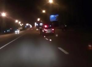 Опубликовано жуткое видео с места смертельного наезда в Воронеже