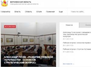 Рупор воронежского правительства оказался на дне всероссийского рейтинга