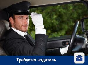 В Воронеже предлагают работу водителю