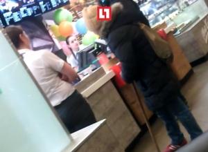 Нищая старушка разгневала сотрудников «Макдональдса» в центре Воронежа
