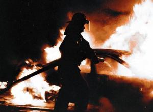 Под Воронежем рано утром сгорела «двенадцатая»