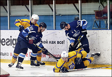 Воронежский «Буран» дважды отыгрался в игре с «Химиком» и вырвал победу