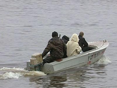 Из-за паводков вВоронежской области затопило мост