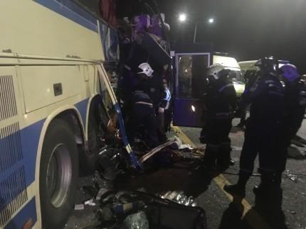 Установлены личности погибших и пострадавших в ДТП с автобусами под Воронежем